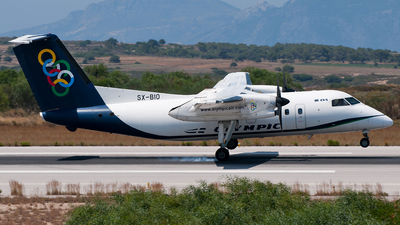 SX-BIO - Bombardier Dash 8-102A - Olympic Air