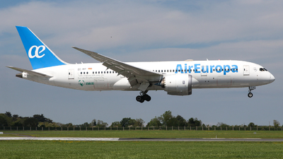 A picture of ECMIG - Boeing 7878 Dreamliner - Air Europa - © Conor McGeehan