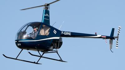 F-GIHE - Robinson R22 Beta - Hégé Helicopters