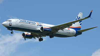 A picture of TCSOE - Boeing 7378HC - SunExpress - © Didier Vittoz