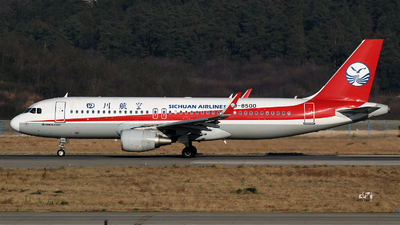 B-8500 - Airbus A320-214 - Sichuan Airlines