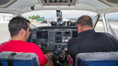 EC-LZK - Beech B99 Airliner - Skydive Empuriabrava