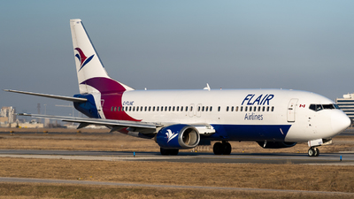 A picture of CFLHE - Boeing 737490 - Flair Airlines - © Gregory Granovski
