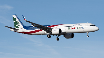 T7-ME3 - Airbus A321-271NX - Middle East Airlines (MEA)