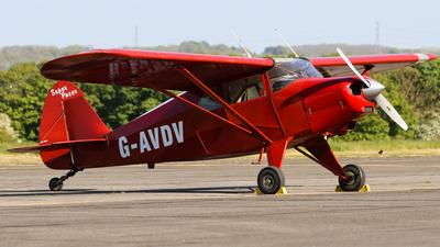 A picture of GAVDV - Piper PA22150 Caribbean - [223752] - © David Cook