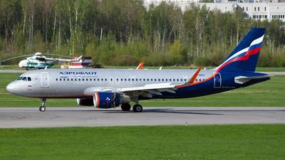 VP-BEO - Airbus A320-214 - Aeroflot