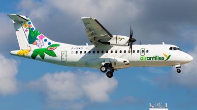 A picture of FOIXO - ATR 42600 - Air Antilles - © Brandon Giacomin