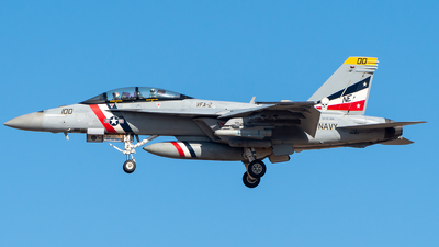 166804 - McDonnell Douglas F/A-18F Hornet - United States - US Navy (USN)