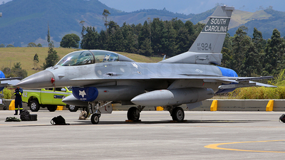 92-3924 - Lockheed Martin F-16DJ Fighting Falcon - United States - US Air Force (USAF)