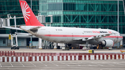 A picture of B2326 - Airbus A300B4605R - [754] - © ZHHH_CAVOK
