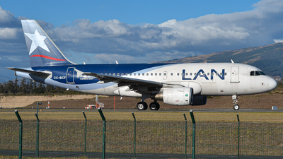 A picture of CCBCF - Airbus A319112 - LATAM Airlines - © Juan Andres Saavedra