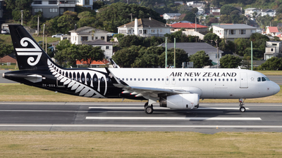 ZK-OXA - Airbus A320-232 - Air New Zealand