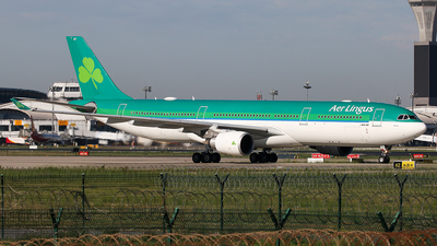 A picture of EIEAV - Airbus A330302 - Aer Lingus - © YangZhang