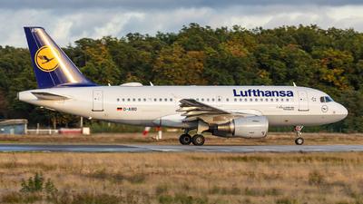 D-AIBD - Airbus A319-112 - Lufthansa