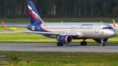 A picture of VPBJA - Airbus A320214 - Aeroflot - © Luba Ostrovskaya
