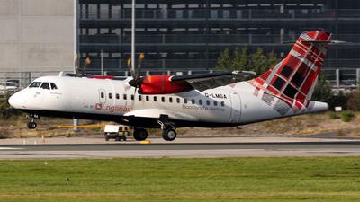 G-LMSA - ATR 42-600 - Loganair
