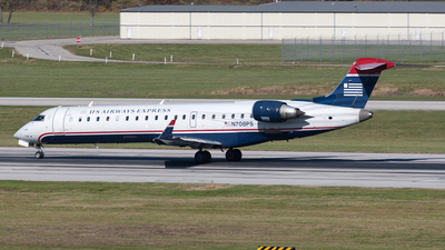 N708PS - Bombardier CRJ-701ER - US Airways Express (PSA Airlines)