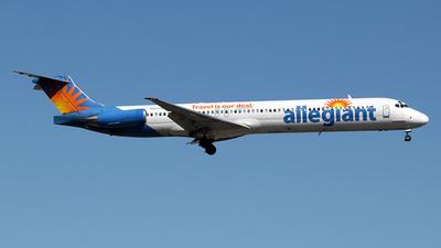 N871GA - McDonnell Douglas MD-83 - Allegiant Air
