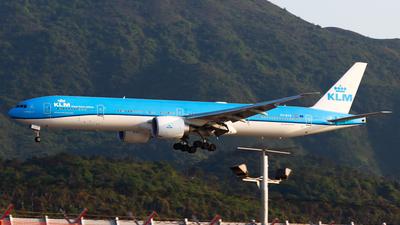 A picture of PHBVR - Boeing 777306(ER) - KLM - © Chow Kin Hei - AHKGAP