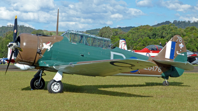 VH-WWY - CAC Wirraway - Private