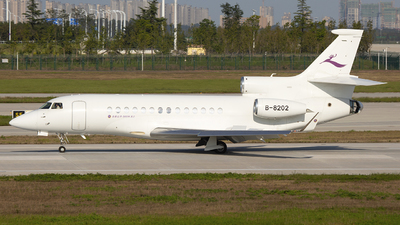 B-8202 - Dassault Falcon 7X - Deer Jet
