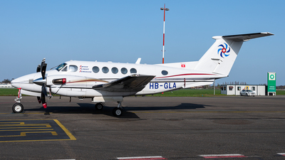 HB-GLA - Beechcraft 200 Super King Air - Swiss Flight Services (SFS)