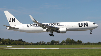 A picture of ETALJ - Boeing 767360(ER) - United Nations - © Conor McGeehan