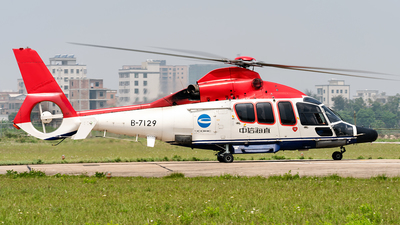 B-7129 - Eurocopter EC 155B1 Kocoglu - China Offshore Helicopter Service Corporation (COHC)