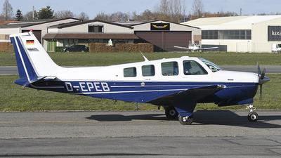 D-EPEB - Beechcraft A36TC Bonanza - Private