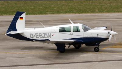 D-EBZW - Mooney M20K-231 - Private
