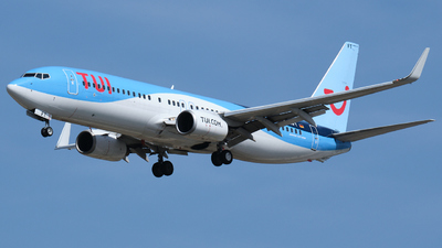 A picture of DAHFT - Boeing 7378K5 - TUI fly - © Dominik Erhardt