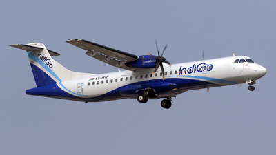 VT-IYH - ATR 72-212A(600) - IndiGo Airlines