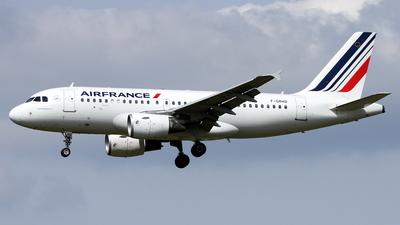 F-GRHQ - Airbus A319-111 - Air France