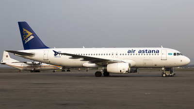P4-TAS - Airbus A320-232 - Air Astana