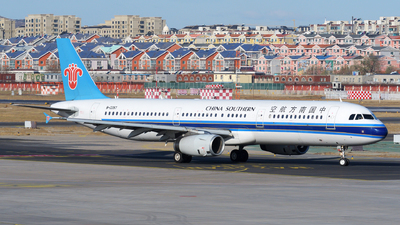 A picture of B2287 - Airbus A321231 - China Southern Airlines - © sunshy0621