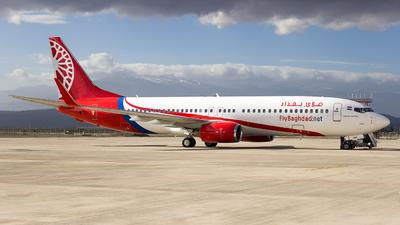 YI-BAF - Boeing 737-8EH - Fly Baghdad
