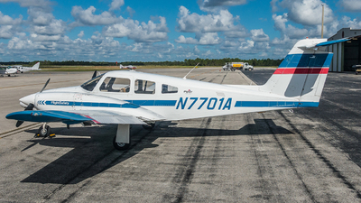A picture of N7701A - Piper PA44180 Seminole - Skyborne Airline Academy - © valiii