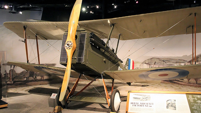 C6457 - Royal Aircraft Factory S.E.5a - United Kingdom - Royal Flying Corps (RFC)