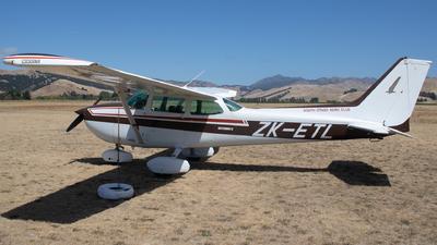 ZK-ETL - Cessna 172P Skyhawk II - South Otago Aero Club