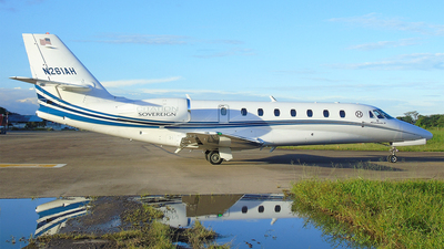 N261AH - Cessna 680 Citation Sovereign - Private