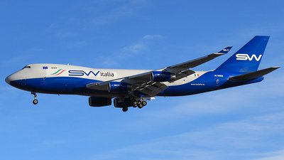 4K-SW800 - Boeing 747-4R7F(SCD) - SW Italia