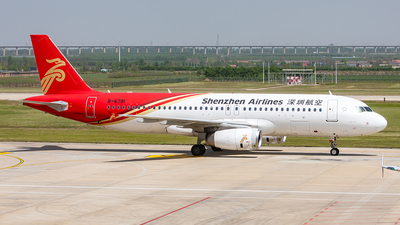 A picture of B6781 - Airbus A320232 - Shenzhen Airlines - © Yan Shuai