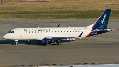 A picture of N403YX - Embraer E175LR - Republic Airways - © ne.planespotter