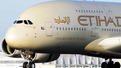 A6-APF - Airbus A380-861 - Etihad Airways
