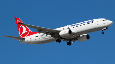 A picture of TCJHK - Boeing 7378F2 - Turkish Airlines - © Vitaly Revyakin