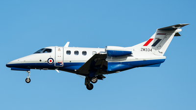 ZM334 - Embraer Phenom T.1 - United Kingdom - Royal Air Force (RAF)
