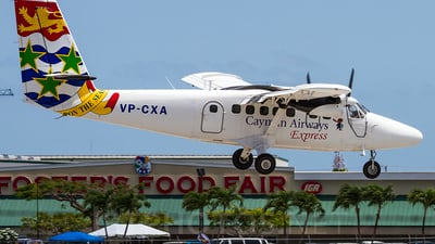 VP-CXA - De Havilland Canada DHC-6-300 Twin Otter - Cayman Airways Express