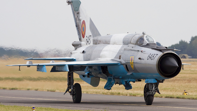 6487 - Mikoyan-Gurevich MiG-21MF Lancer C - Romania - Air Force