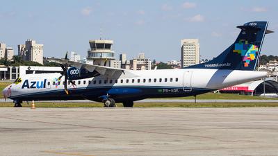 PR-AQK - ATR 72-212A(600) - Azul Linhas Aéreas Brasileiras