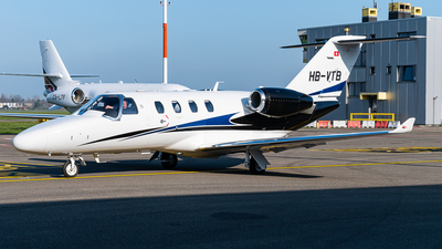HB-VTB - Cessna 525 CitationJet M2 - Private
